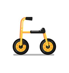 Little kids tricycle isolated icon vector