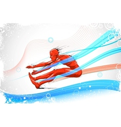 Long jump vector