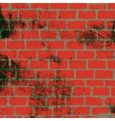 Messy Brickwall Texture vector image vector image