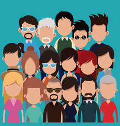 People group community age culture vector