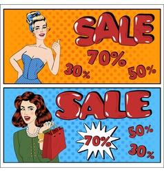 Sale banner seasonal sale great discount vector