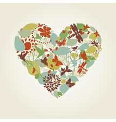 Plant heart vector