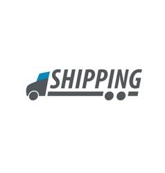 logo delivery vector image