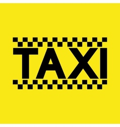Modern taxi service background vector