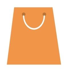 shopping bag icon vector image