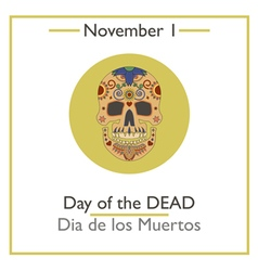 Day of dead vector
