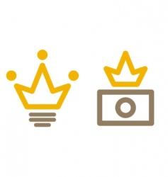 stock avatars vector image