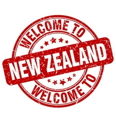 Welcome to new zealand vector