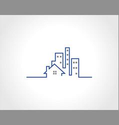 building logo vector image