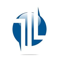 Logo company name design perfect motif vector