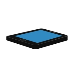 Tablet icon  isolated technology gadget vector