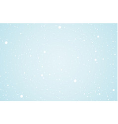 Christmas clean background banner with snow vector