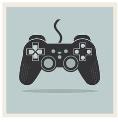 Computer Video Game Controller Joystick vector image vector image