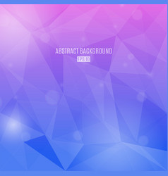 abstract background with transparent triangles in vector image