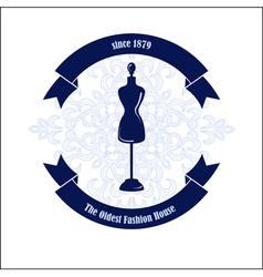 Fashion house logo design template vector