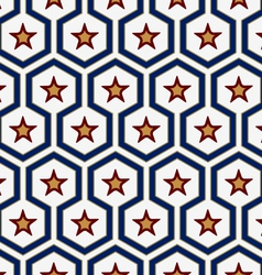 star pattern background vector image