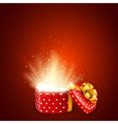 Valentine day gift vector