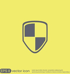 Protect shield icon vector