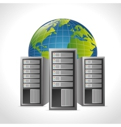 Data center and hosting vector