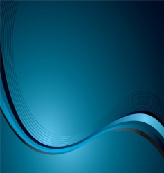 cyan wave vector image