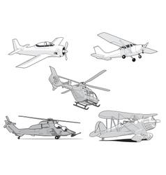 Air set vector image vector image
