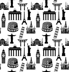 City pattern2 vector