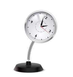 Clock souvenir vector image vector image