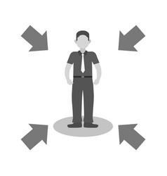 influencing skills vector image vector image