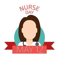 Nurse day vector