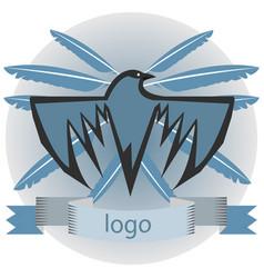 Raven logo vector