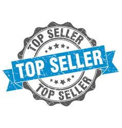 Top seller stamp sign seal vector