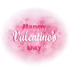 Valentine s Day Heart for design greetings vector image