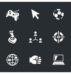 Set of Sport Video Games vector image