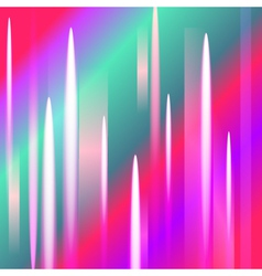 Abstract northern lights background with light pea vector