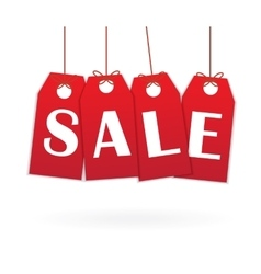 Labels with text Sale vector image vector image