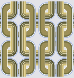 rectangle geometry ornate pattern vector image