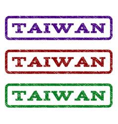 Taiwan watermark stamp vector