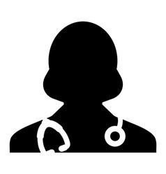 Doctor physician nurse medical healthcare icon vector