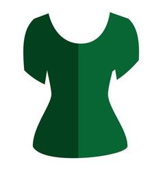 fashion female garment icon vector image