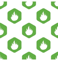 Fire pattern vector