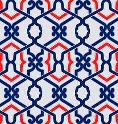 ancient pattern background vector image