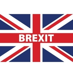 United kingdom exit from europe relative image vector