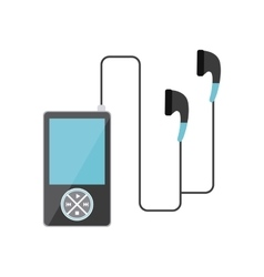 Music player sound headset vector