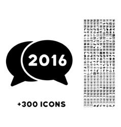 2016 forum icon vector