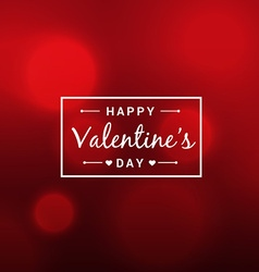 abstract beautiful valentines day red background vector image