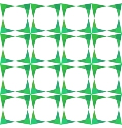 Abstract geometry green seamless pattern vector image vector image