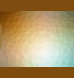 color polygon abstract triangulated background vector image