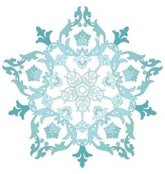 Floral dekorative pattern vector