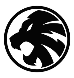 Lion black symbol sign 092016 vector