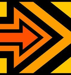Right arrow background orange vector